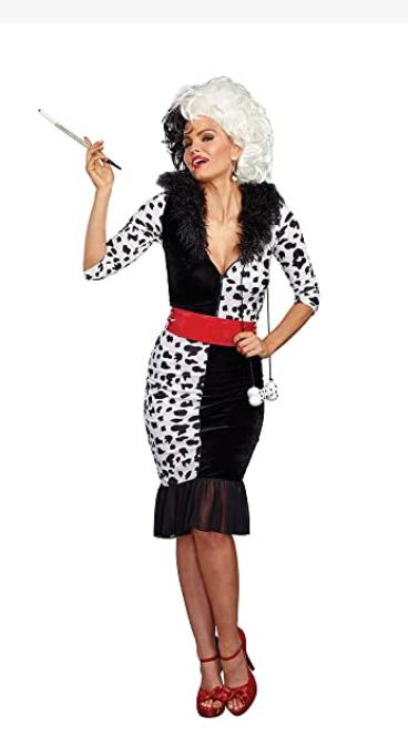 cruella deville costume cruella deville wig Cruella DeVille Disney, Cruella DeVille pictures