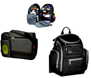 Modern diaper bags for dads