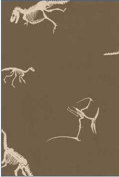 prehistoric dinosaur wallpaper chocolate brown