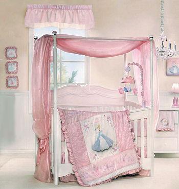 Baby Girl Disney Princess Bedding And Nursery Decor Ideas