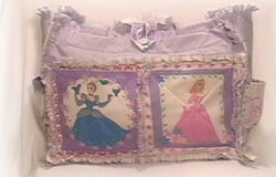 homemade pattern rag baby disney princess diaper bag tote messenger