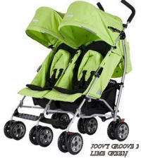 lightweight double umbrella stroller joovy 2 lime green