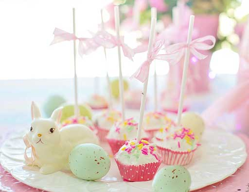 Easter baby shower cake pops ideas