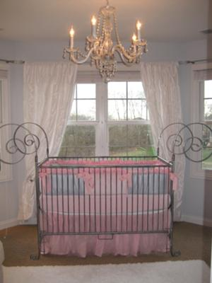 Our Baby Girl's Pink and Gray Nursery is a Picture of Modern Enchanted Elegance