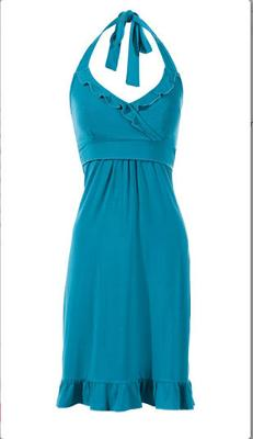 Flirty Halter Dress