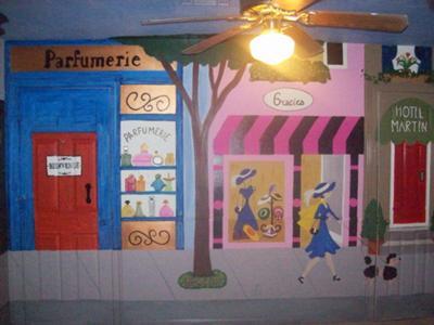 Ooh La La French Baby Nursery - Parisian Nursery Wall Mural