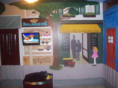 Ooh La La Parisian Baby Nursery Wall Painting