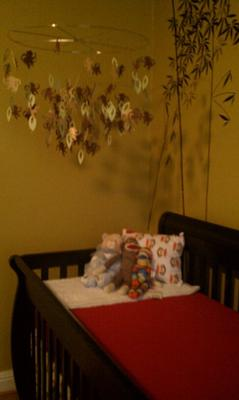 Gender Neutral Bamboo Tree Baby Nursery... for my boy