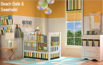 baby boy girl tropical hawaiian print baby nursery crib bedding sets
