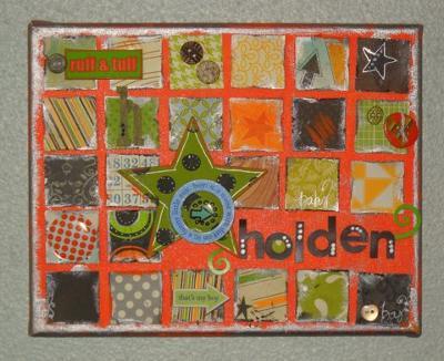 Holden's Woodstock Nursery Artwork