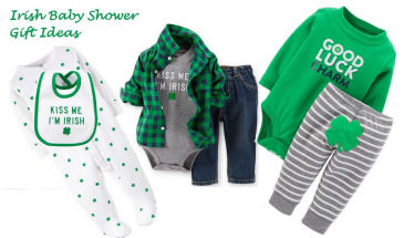 St. Patrick's Day Irish Baby Gift Ideas