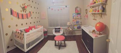 Modern boho Scandinavian nursery ideas in pink for Ivannah, our sweet Baby Girl