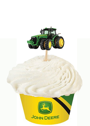 john deere tractor baby shower cake design ideas toppers cupcakes decorating