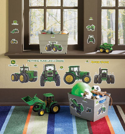 Baby John Deere Nursery Wall Decals, Stickers and Decor