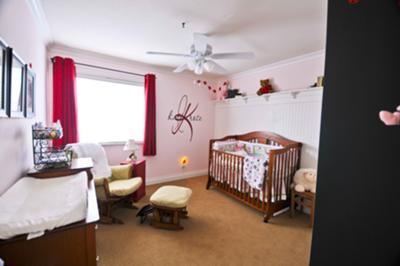 Katia's Ladybug Nursery