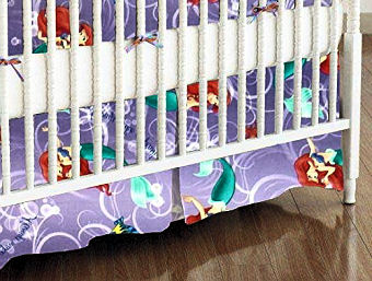 Disney Little Mermaid Ariel baby nursery ideas and crib bedding