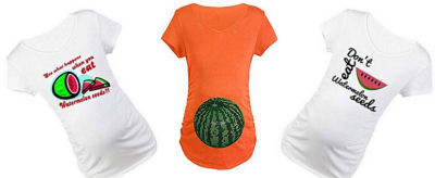 funny maternity shirt sayings about watermelon seeds