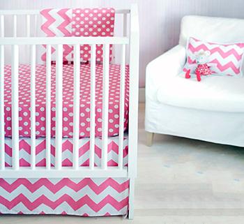 Modern Crib Bedding for Baby Boys and Girls Nurseries