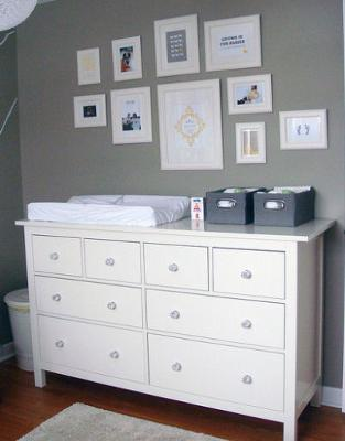 Fresh, Modern Nursery with Clean Lines