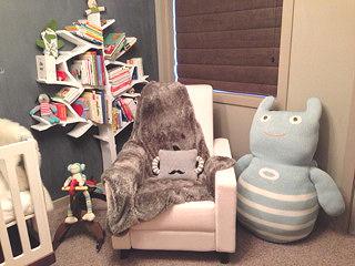 Monster Theme Baby Nursery