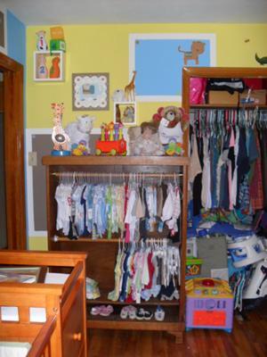 Modern Nursery Storage Space
