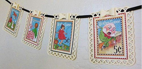 nursery rhyme mother goose baby shower decoration gift