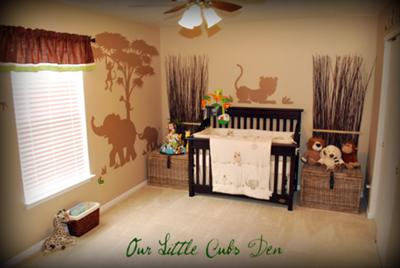 Our Little Cub's Den -  Sleepy Safari Adventure