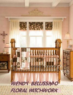 patchwork crib bedding sets quilts baby bedding nursery accessories