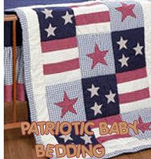 patriotic red white blue baby bedding crib bedding nursery bedding sets