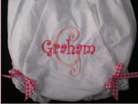 gucci personalized monogrammed baby diaper cover