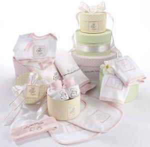 personalized baby layette gift set clothing