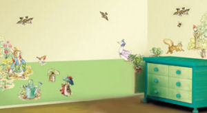 Peter Rabbit Jemima Puddleduck and other Beatrix Potter Storybook Characters Nursery Wall Decals