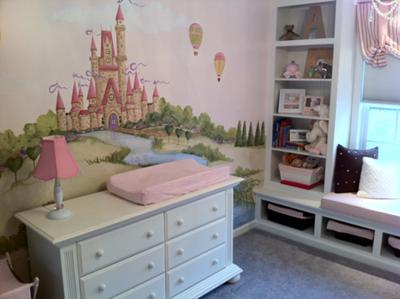 Picture Perfect Princess Nursery