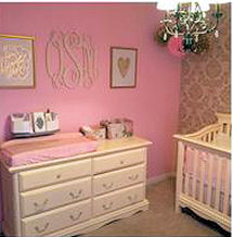 Baby Girl Nursery Pictures Photos Filled With Decorating