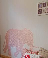 Baby Girl Pink Elephant Nursery Ideas