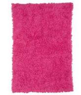hot pink girls baby rectangle shaggy flokati shag pottery barn kids teen nursery area rug