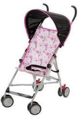 Inexpensive Lightweight pink Disney umbrella baby stroller