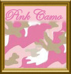 Pink Camo Camouflage Baby Shower Theme Ideas for a Baby Girl