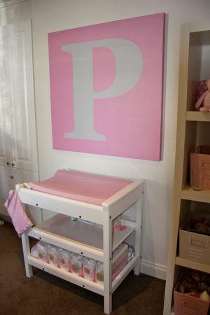 Piper S Pink And Grey Nursery Room