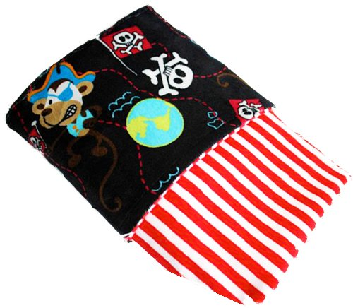 minky pirate baby blanket quilt baby shower gift idea