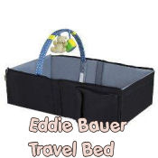 eddie bauer portable baby crib infant travel bed