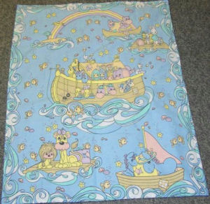 Precious Moments Noahs Ark crib bedding