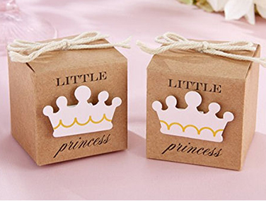 Princess baby shower favors