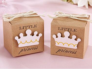 Princess baby shower favors