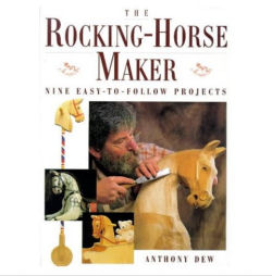 Instruction book for how to make your own wooden baby nursery rocking horse from blueprints and plans
