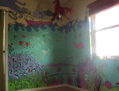 Rowan Tree Nursery Wall Mural Painting