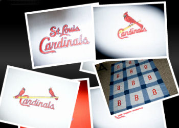 st. louis cardinals quilt quilting fabric flannel fleece cotton st louis