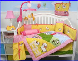 baby lamb counting sheep baby nursery theme girl girls nursery room bedding crib set