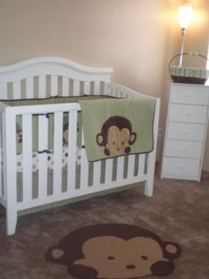 Silly Monkey Nursery Theme