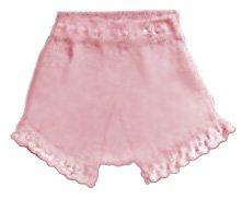Free ruffle diaper cover knitting pattern.  Ruffle knit diaper cover soaker pattern for a baby girl.
